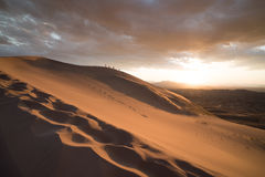 Desert Landscape Picture Royalty Free Stock Images