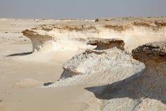 Desert landscape in Qatar Royalty Free Stock Image