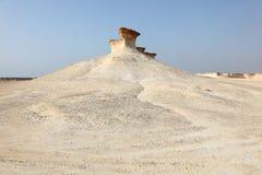 Desert landscape in Qatar Royalty Free Stock Photography
