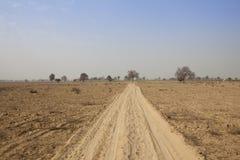 Desert landscape of rajasthan Stock Photography