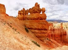 US National Parks, Bryce Canyon National Park, Utah. Desert landscape with remarkable rock towers and arches, Bryce Canyon National Park, Utah. US National Parks stock photography