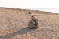 Desert landscape of Sahara Stock Image