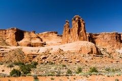 Desert Landscape Scene Stock Images