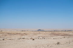 Desert Landscape with Small Settlement near Swakopmund, Namibia Stock Images