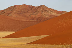 Desert landscape, Sossusvlei, Namibia. Southern Africa royalty free stock photography
