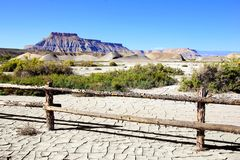 Desert landscape of southern Utah Royalty Free Stock Images