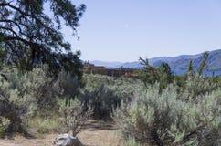 Sonoran Desert Landscape 25. Desert landscape with Spirit Ridge resort buildings in the background Stock Photography
