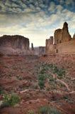 Desert landscape of Utah Royalty Free Stock Photos