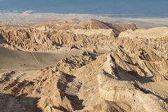 Desert landscape of Valley of Mars Stock Photography