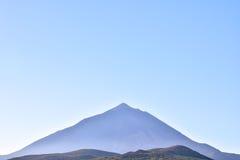 Desert Landscape in Volcan Teide National Park Royalty Free Stock Photos