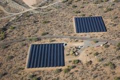 Desert Level Solar Royalty Free Stock Photo
