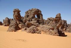Desert in Libya Royalty Free Stock Photo