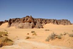 Desert in Libya. Landscape in the desert of Libya, in Africa Royalty Free Stock Photo