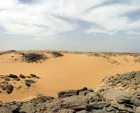 Desert of Libya Royalty Free Stock Photos