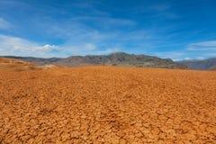 Desert lifeless place Royalty Free Stock Photo