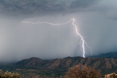 Desert Lightning Stock Images