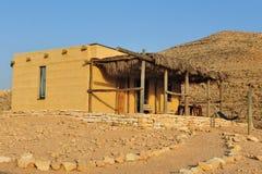 Desert lodge in Israel Royalty Free Stock Image