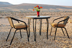 Desert Lodges In Israel Royalty Free Stock Photos