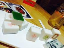 Desert looks like Mahjong royalty free stock images