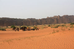 Desert in mali Stock Images