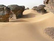 desert  sahara  tamanrasset,algeria Stock Photo