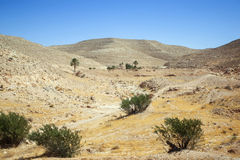 Desert in Matmata Royalty Free Stock Image