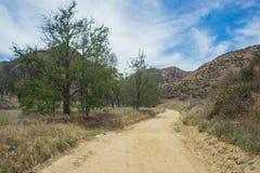 Desert Meadow in California Hills Stock Images