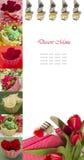 Desert menu Stock Photos