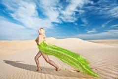 Desert mermaid Royalty Free Stock Image