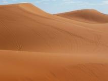 Desert at Merzouga, eastern Morocco Royalty Free Stock Photo
