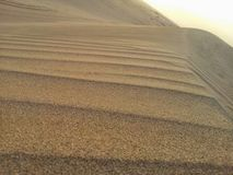 Desert in the middle east. Sand dune in Saudi Stock Image