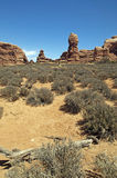 Desert in Moab Utah Stock Photography