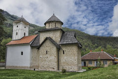 Desert Monastery in Serbia royalty free stock images