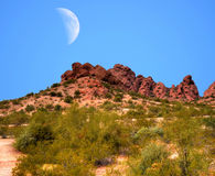 Desert Moon Royalty Free Stock Image
