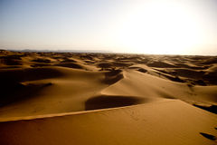 Desert in Morocco Royalty Free Stock Images
