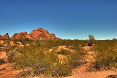 Desert Mountain 105 Stock Photography