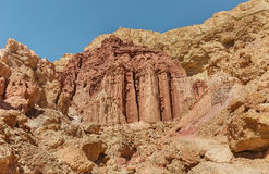 Desert and mountain canyons Stock Image