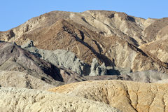 Desert mountain Death Valley Royalty Free Stock Photos