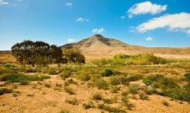 Desert mountain, Fuerteventura. Desert mountains in the north of Fuerteventura, Canary Islands, Spain Stock Photo
