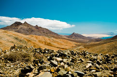 Desert mountain, Fuerteventura, Stock Photo