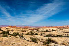 Desert Mountain Landscape Royalty Free Stock Photography