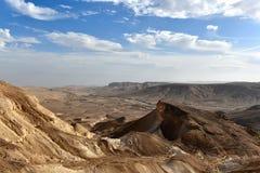 Desert mountain landscape stock images