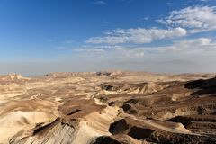 Desert mountain landscape royalty free stock photos