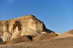 Desert mountain landscape stock photography