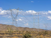 Desert Mountain Power Royalty Free Stock Photography