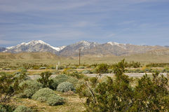 Desert mountain range royalty free stock photos