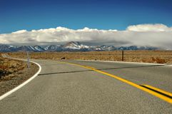 Desert Mountain Road Royalty Free Stock Photo