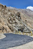 Desert mountain road turn Royalty Free Stock Photography