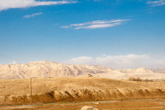 Desert and mountain scenery, Israel Stock Photography