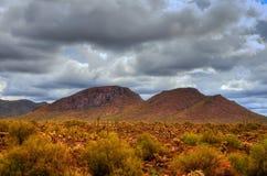 Desert Mountain Storm Stock Image
